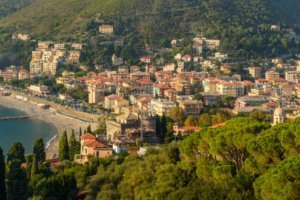 View of Levanto. Italy