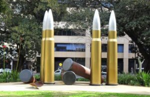 bullets sydney street art