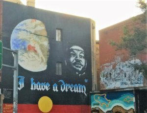 i have a dream sydney wall mural newtown