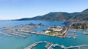 Aerial View of La Spezia, Italy