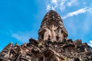 Angkor Thom at Angkor Wat near Siem Reap, Cambodia