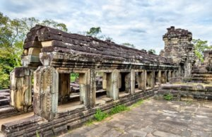 Baphuon Temple at Angkor Thom, Cambodia