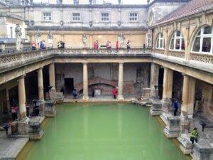 Bath historical places england