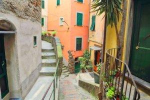 Beautiful Vernazza streets