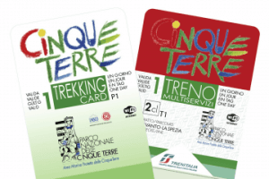 Cinque Terre Trekking and Train Cards