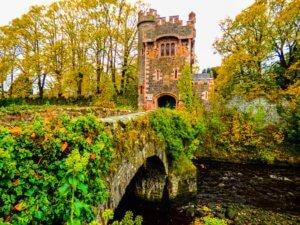 Glenarm Castle gate