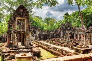Preah Khan Temple in Angkor