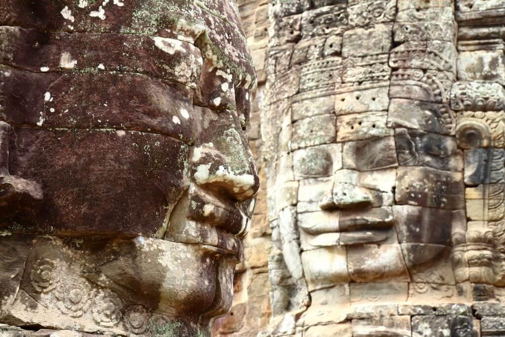 angkor Thom at Angkor Wat Cambodia