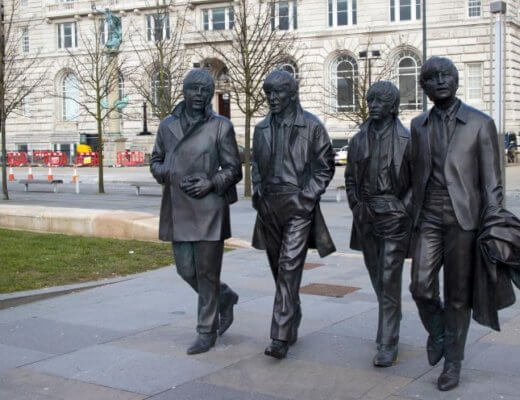 beatles sculpture liverpool