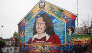 bobby sands mural northern ireland history
