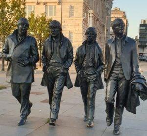 liverpool beatles statue