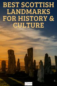 scotland landmarks pinterest image