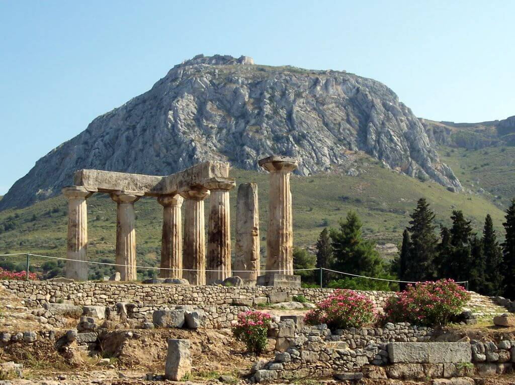 Ancient Corinth and Acrocorinth, Greece