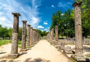 Archaeological Site of Olympia in Greece