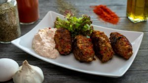Cevapcici food to try when to travel to croatia