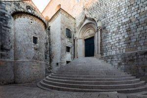 Dominican Monastery. Dubrovnik. Croatia.