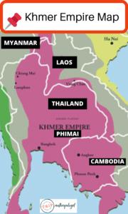 KHMER EMPIRE MAP