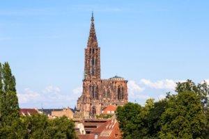 Strasbourg cathedral de notre dame, France