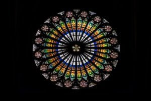 Strasbourg cathedral rosette