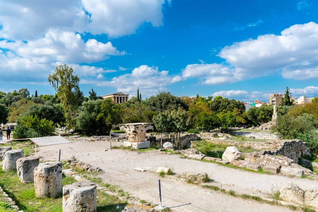 Temple of Hephasteus and Ancient Agora of Athens