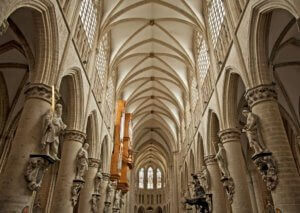 interior strasbourgh cathedral