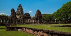Phimai historical park a khmer outpost