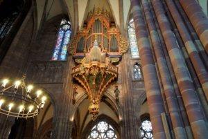 strasbourg cathedral organ