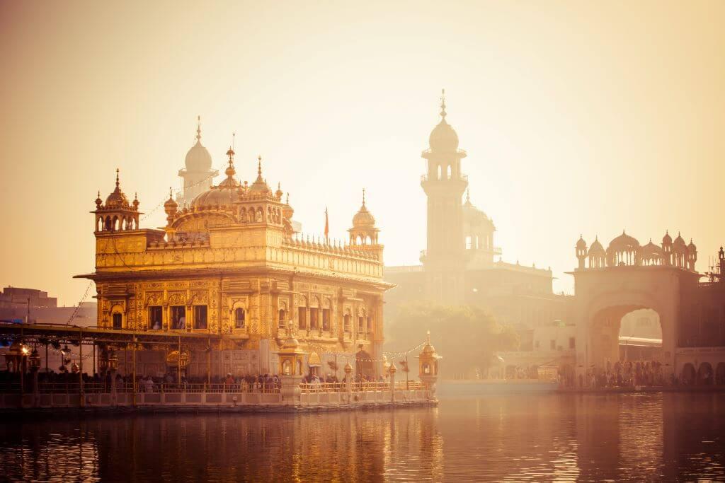 Sikh Gurdwara Golden Temple in Amritsar, Punjab, India