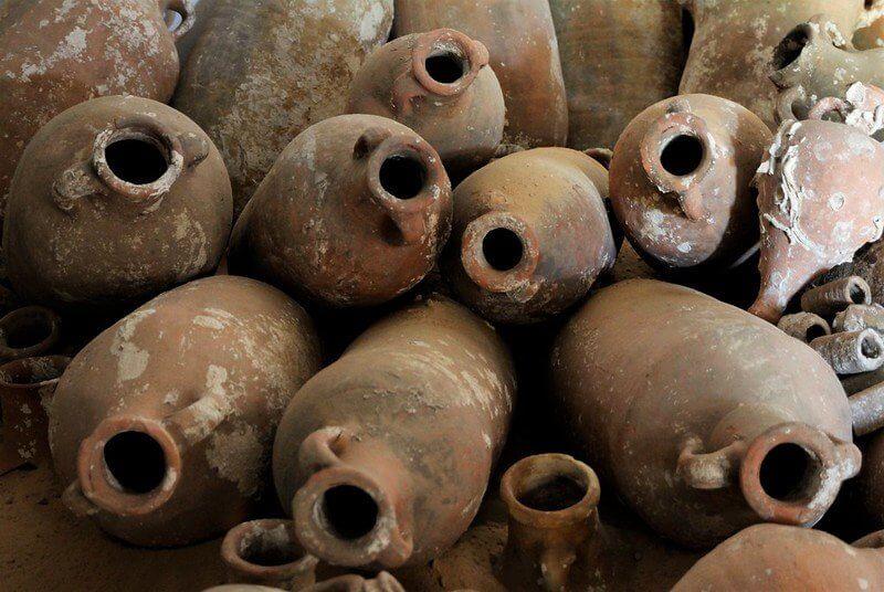 Roman amphorae, stari grad museum