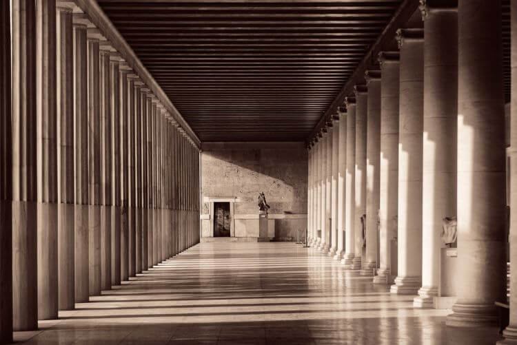 stoa of attalos-GREEK AGORA OF ATHENS