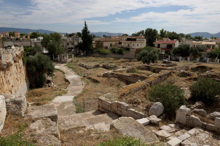 elefsina archaeological zone