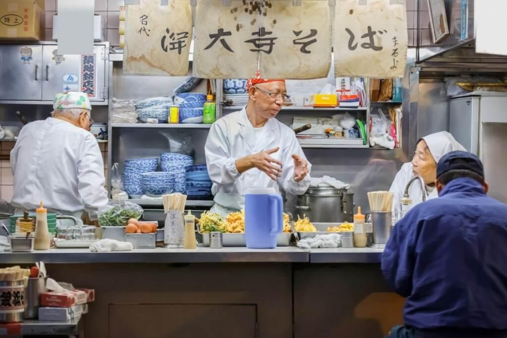 japanese food stall